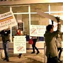 Protest impotriva RDS&RCS la Arad