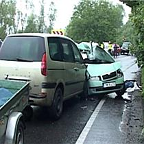 Accident mortal la Conop