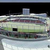 Noua imagine a stadionului UTA