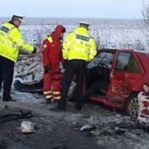 Accident pe drumul Arad-Horia