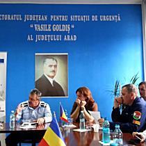 Conferinta de presa ISU Arad