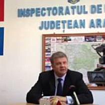 Declaratie comisar sef Nicolae Batrin, adjunctul IPJ Arad