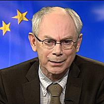 Mesajul presedintelui Consiliului Europei, Herman Van Rompuy