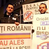 Protest impotriva RDS&RCS la Arad (2)